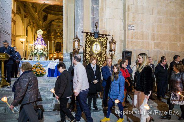 Nuestro Padre Jesús de Orihuela regresa a su camarín 44