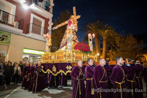 Nuestro Padre Jesús de Orihuela regresa a su camarín 51