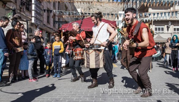 La Armengola pregona el Mercado Medieval de Orihuela 36