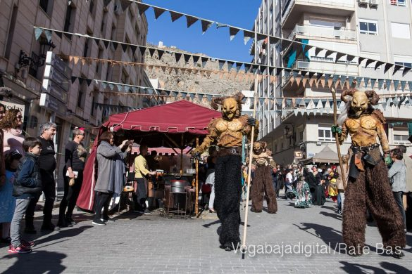 La Armengola pregona el Mercado Medieval de Orihuela 37
