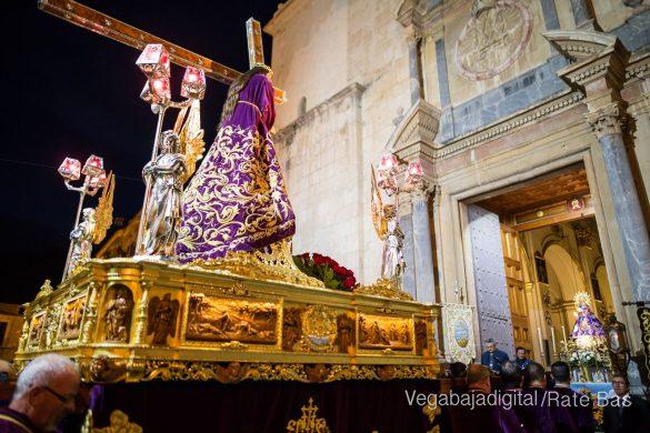 Nuestro Padre Jesús de Orihuela regresa a su camarín 53