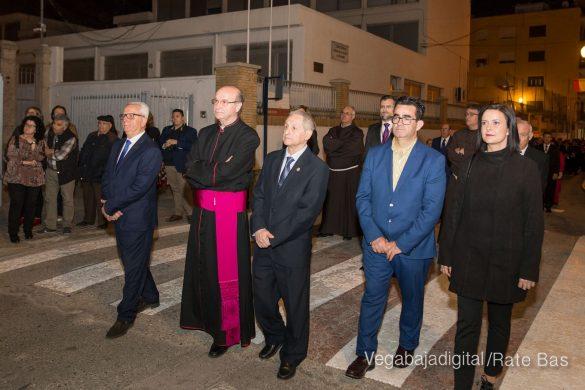 Nuestro Padre Jesús de Orihuela regresa a su camarín 56