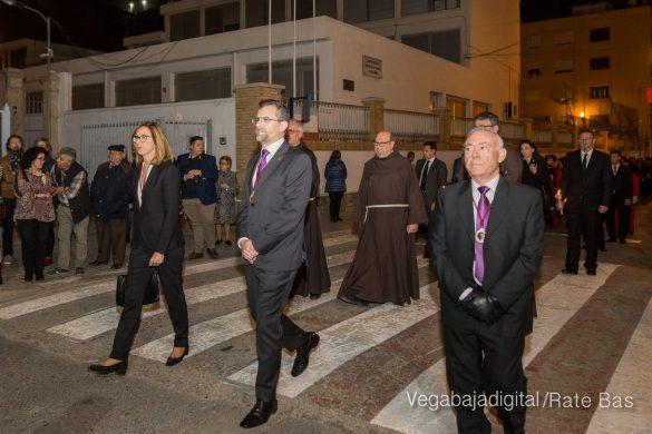 Nuestro Padre Jesús de Orihuela regresa a su camarín 57
