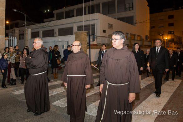 Nuestro Padre Jesús de Orihuela regresa a su camarín 58