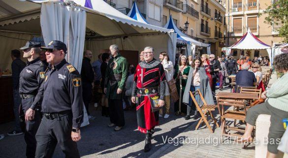 La Armengola pregona el Mercado Medieval de Orihuela 51