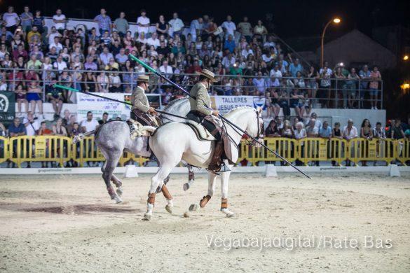 La espectacularidad de los caballos hechiza a los asistentes a FEGADO 100