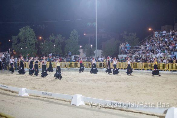 La espectacularidad de los caballos hechiza a los asistentes a FEGADO 98