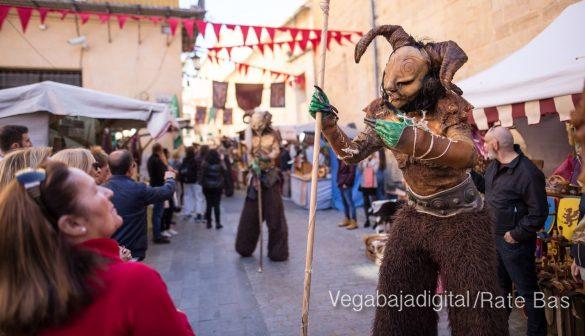 La Armengola pregona el Mercado Medieval de Orihuela 56