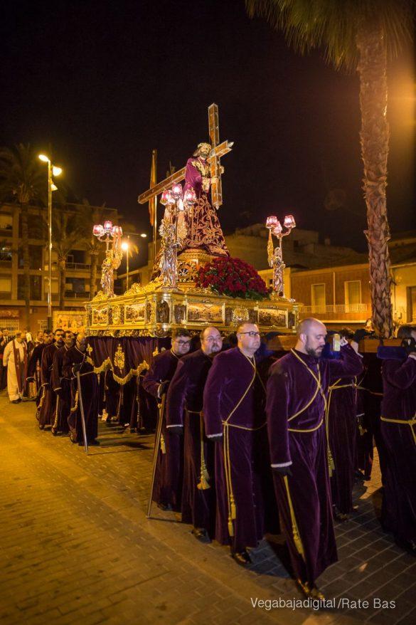 Nuestro Padre Jesús de Orihuela regresa a su camarín 69