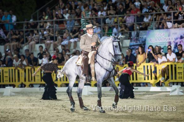 La espectacularidad de los caballos hechiza a los asistentes a FEGADO 95