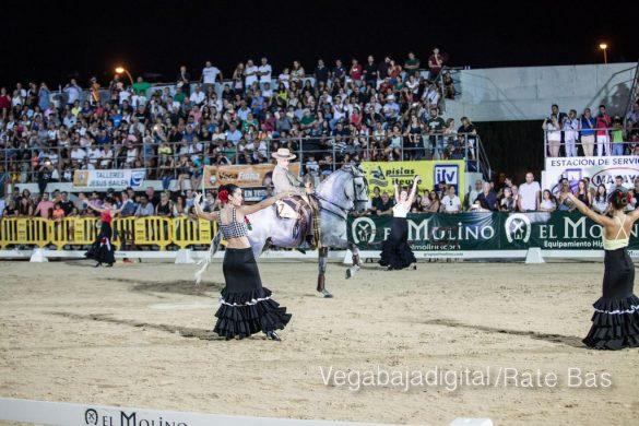 La espectacularidad de los caballos hechiza a los asistentes a FEGADO 94
