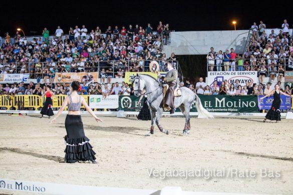 La espectacularidad de los caballos hechiza a los asistentes a FEGADO 91