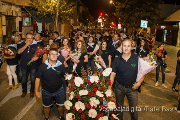 Ofrenda floral en Pilar de la Horadada 99