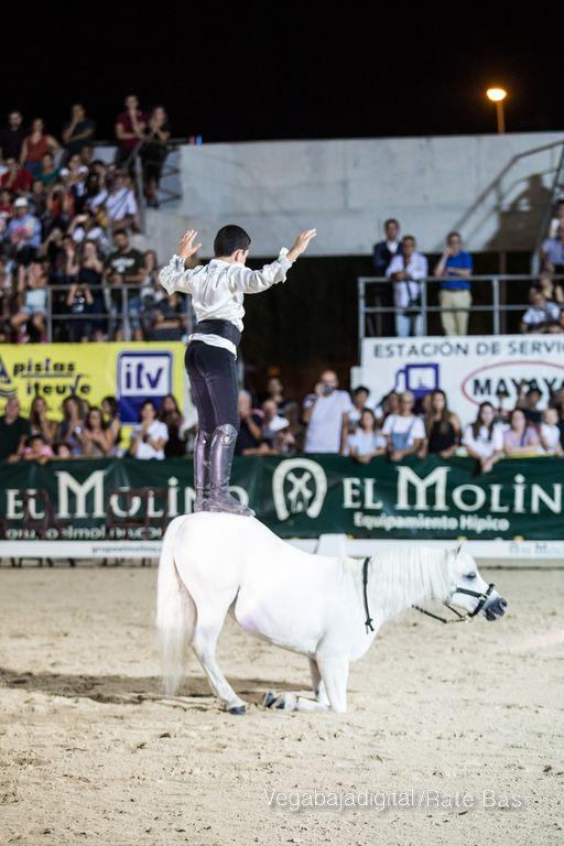 La espectacularidad de los caballos hechiza a los asistentes a FEGADO 88
