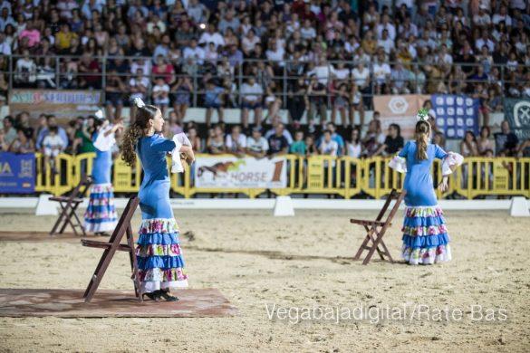 La espectacularidad de los caballos hechiza a los asistentes a FEGADO 87
