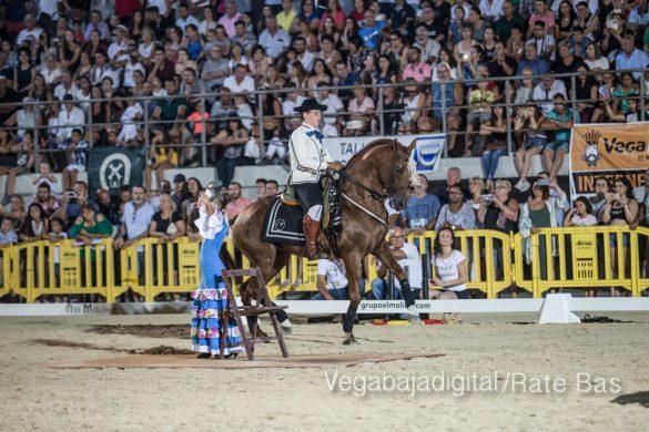 La espectacularidad de los caballos hechiza a los asistentes a FEGADO 86