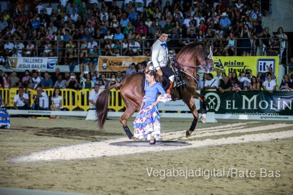 La espectacularidad de los caballos hechiza a los asistentes a FEGADO 84