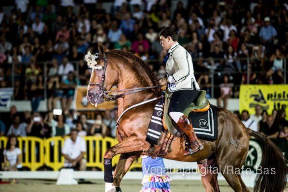 La espectacularidad de los caballos hechiza a los asistentes a FEGADO 83