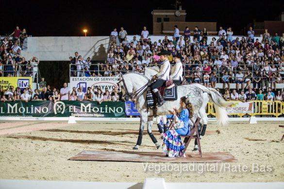 La espectacularidad de los caballos hechiza a los asistentes a FEGADO 82