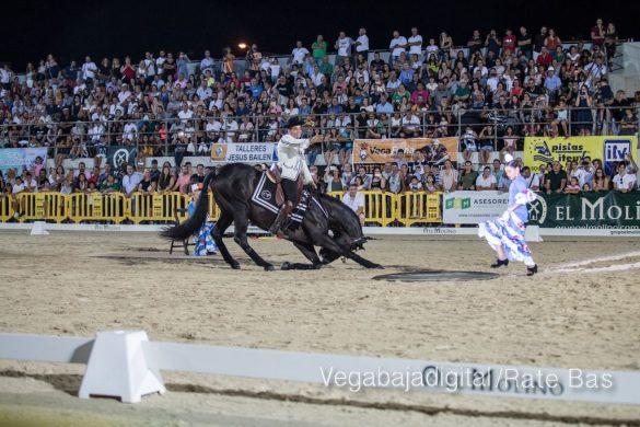 La espectacularidad de los caballos hechiza a los asistentes a FEGADO 81