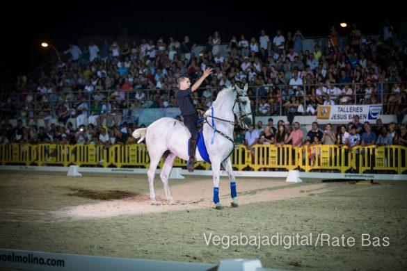La espectacularidad de los caballos hechiza a los asistentes a FEGADO 80
