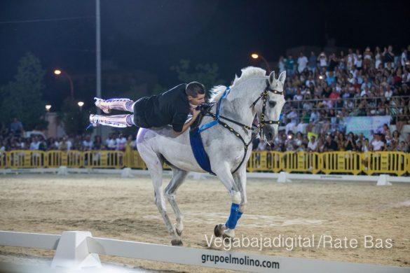 La espectacularidad de los caballos hechiza a los asistentes a FEGADO 79