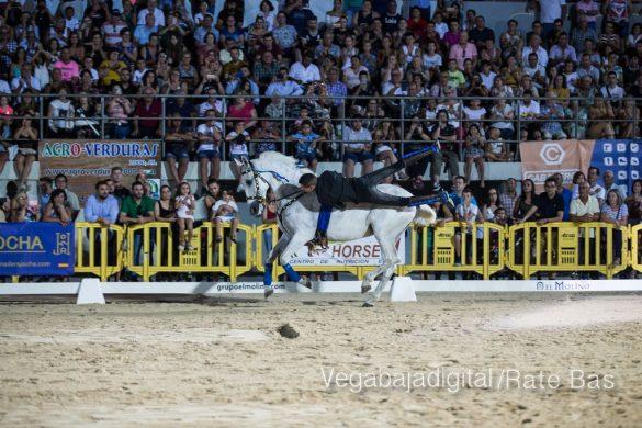 La espectacularidad de los caballos hechiza a los asistentes a FEGADO 78