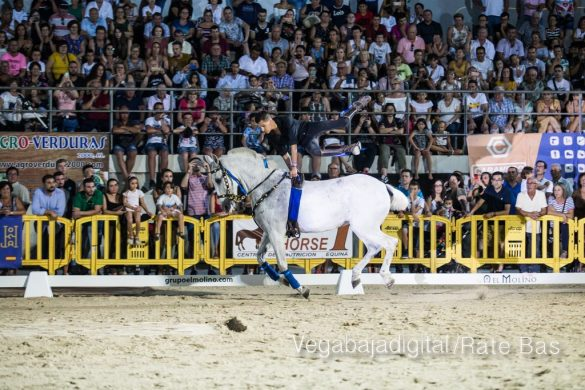 La espectacularidad de los caballos hechiza a los asistentes a FEGADO 77