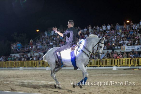 La espectacularidad de los caballos hechiza a los asistentes a FEGADO 76
