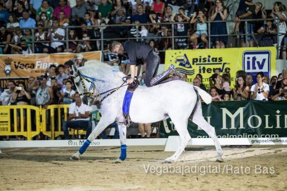 La espectacularidad de los caballos hechiza a los asistentes a FEGADO 73