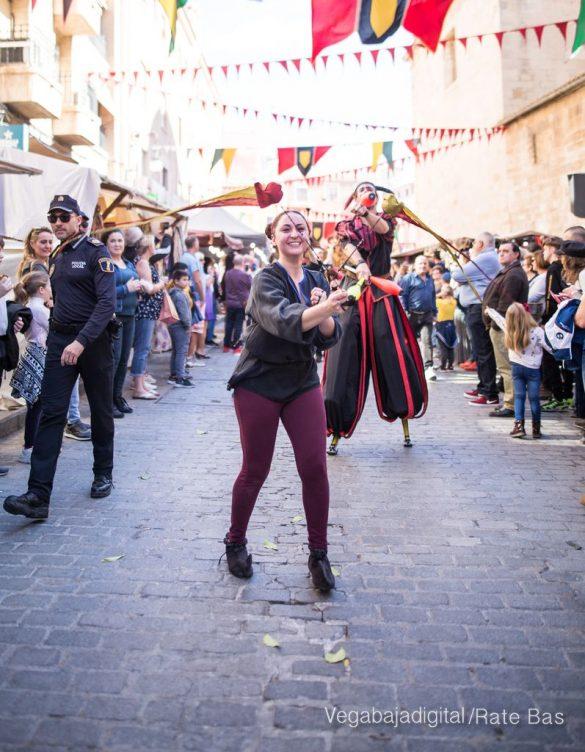 La Armengola pregona el Mercado Medieval de Orihuela 65