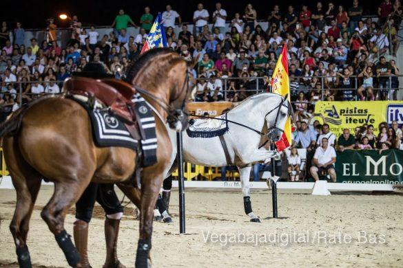 La espectacularidad de los caballos hechiza a los asistentes a FEGADO 72
