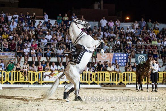 La espectacularidad de los caballos hechiza a los asistentes a FEGADO 61