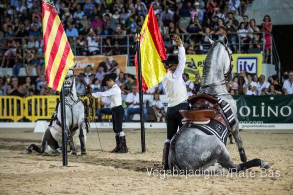La espectacularidad de los caballos hechiza a los asistentes a FEGADO 60