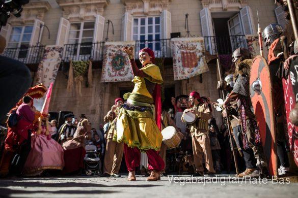 La Armengola pregona el Mercado Medieval de Orihuela 73