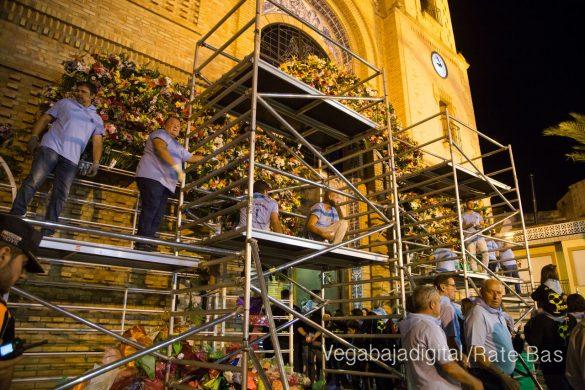 Ofrenda floral en Pilar de la Horadada 130