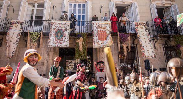 La Armengola pregona el Mercado Medieval de Orihuela 75