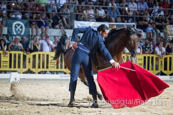 La espectacularidad de los caballos hechiza a los asistentes a FEGADO 47