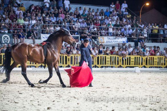 La espectacularidad de los caballos hechiza a los asistentes a FEGADO 44