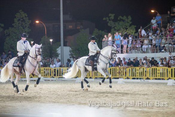 La espectacularidad de los caballos hechiza a los asistentes a FEGADO 35