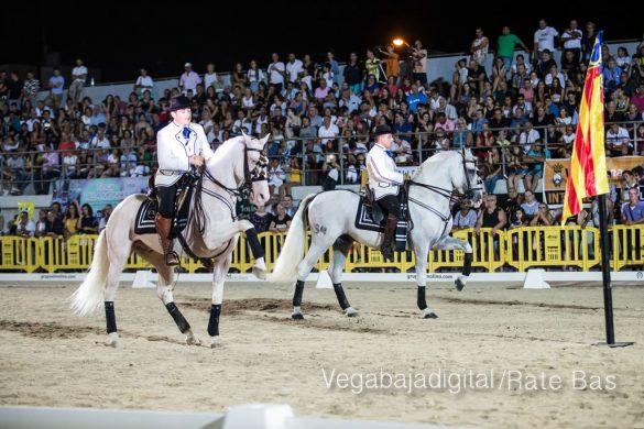 La espectacularidad de los caballos hechiza a los asistentes a FEGADO 28