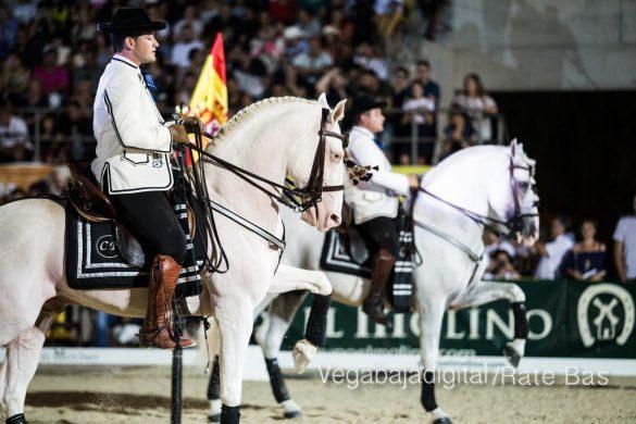 La espectacularidad de los caballos hechiza a los asistentes a FEGADO 27