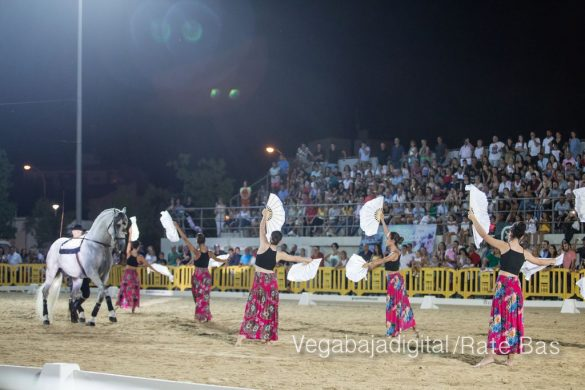 La espectacularidad de los caballos hechiza a los asistentes a FEGADO 23