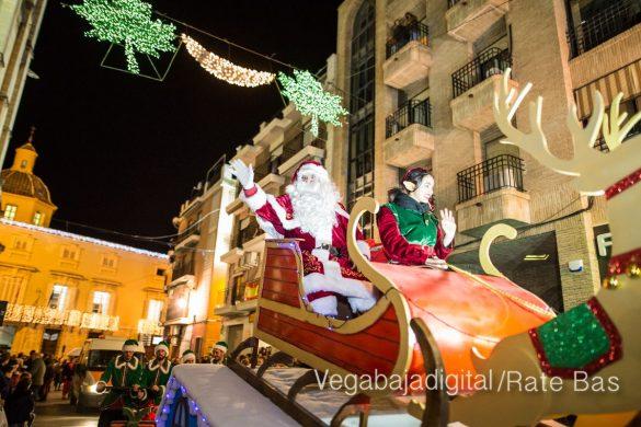 Papá Noel llena de ilusión a Orihuela 34