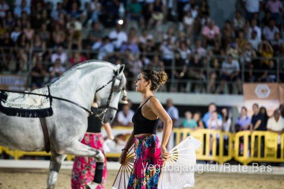La espectacularidad de los caballos hechiza a los asistentes a FEGADO 22