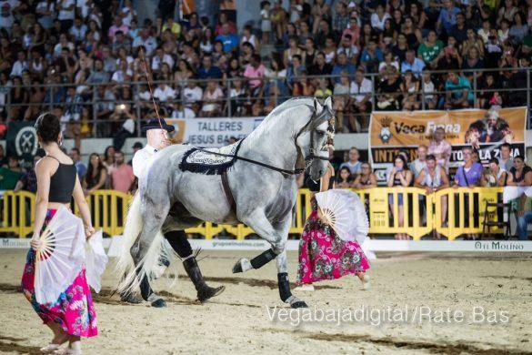 La espectacularidad de los caballos hechiza a los asistentes a FEGADO 17