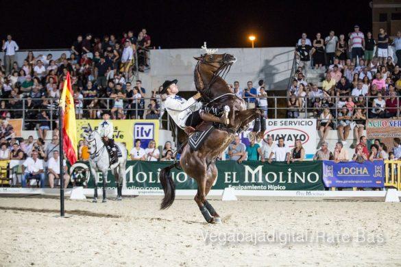 La espectacularidad de los caballos hechiza a los asistentes a FEGADO 10