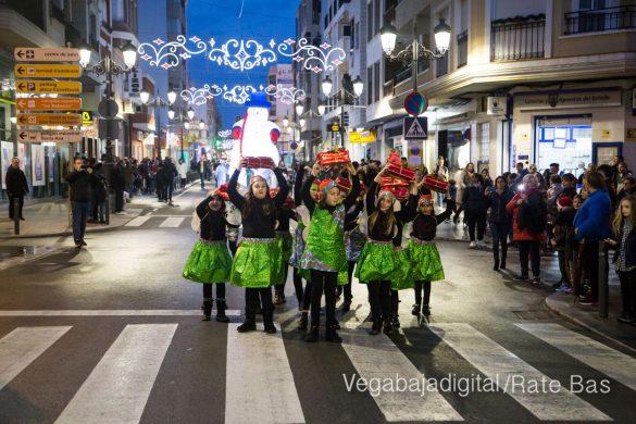 Papá Noel hace su primera parada en Guardamar 67