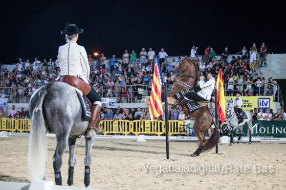 La espectacularidad de los caballos hechiza a los asistentes a FEGADO 9