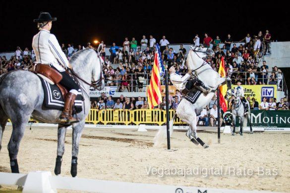 La espectacularidad de los caballos hechiza a los asistentes a FEGADO 8